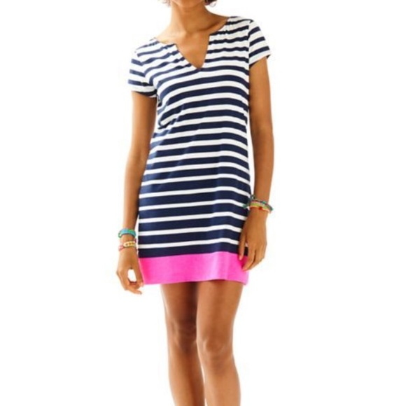 43921dbbf97 Lilly Pulitzer Dresses & Skirts - {Lilly Pulitzer} Brewster Engineered  Striped Dress
